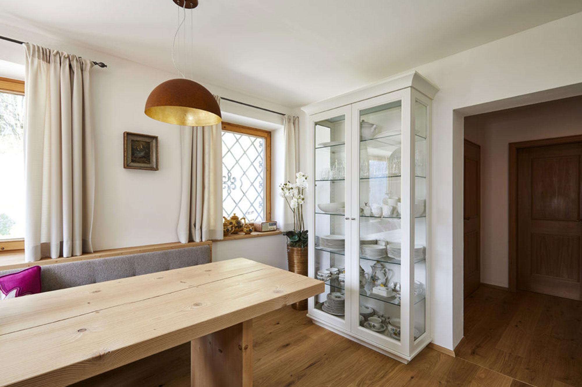 Tischlerei Stöckl Ebbs Inneneinrichtung Ferienhaus Möbel Esszimmer Küche