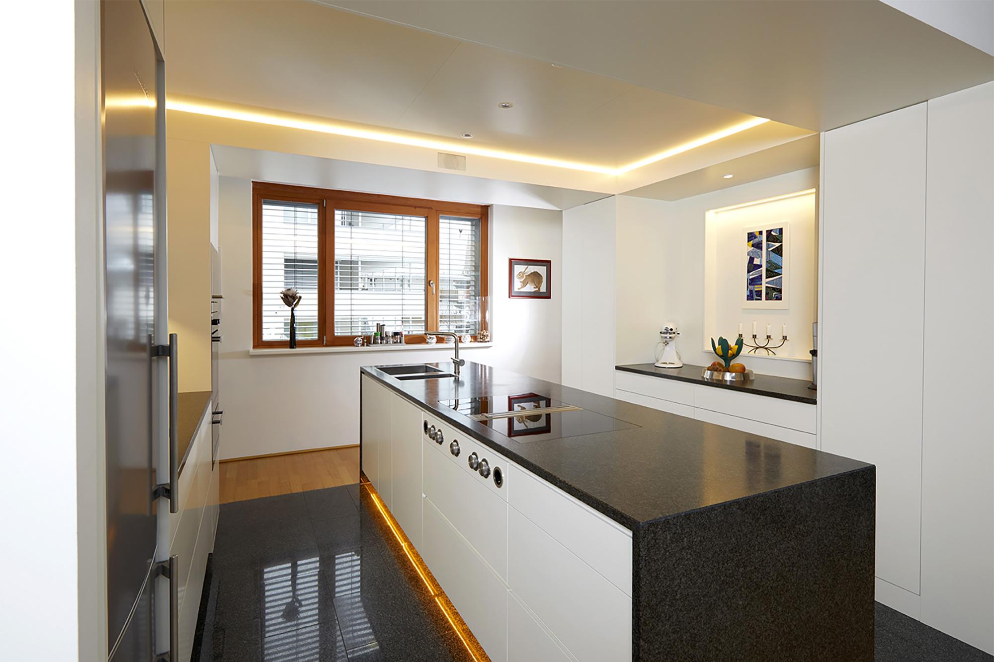 Tischlerei Stöckl Ebbs Inneneinrichtung Küche Bora Professional Quooker Schränke Kücheninsel